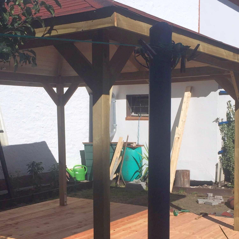 Pavillonbau: Die Arbeit hat sich gelohnt