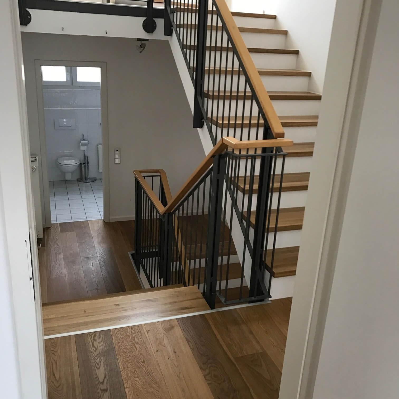 Treppe und Dielen